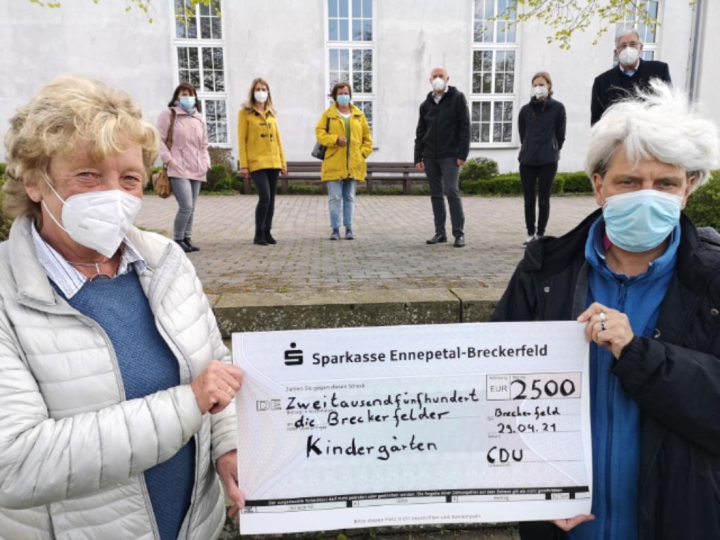 Spende Kindergärten Breckerfeld